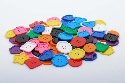 Assorted Large Buttons (45 or 90pk)